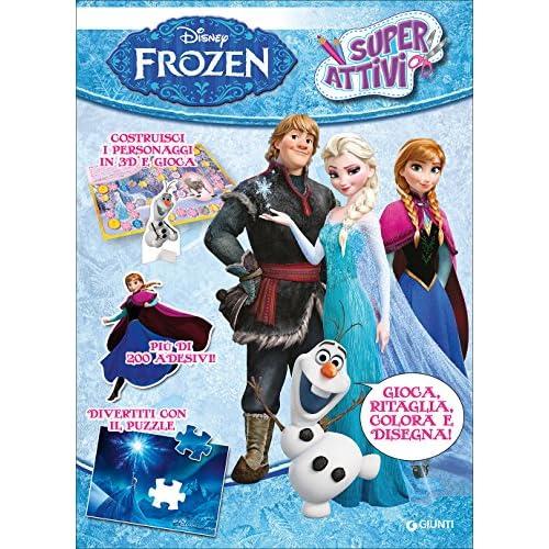 Frozen. Superattivi. Con adesivi