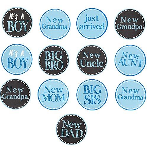 Mud Pie New Baby Boy Arrival Stickers