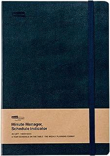 ハイタイド 手帳 2021年 (2020年12月始まり) ミニットマネージャー・EX ネイビー (A5 レフト ウィークリー)