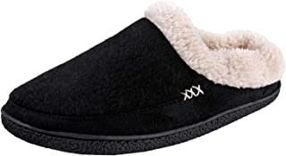 Urban Fox Slippers for Men - Micro Suede Everson | House Shoes I Rubber-Sole | Faux Fur | Indoor Outdoor Men's Slippers