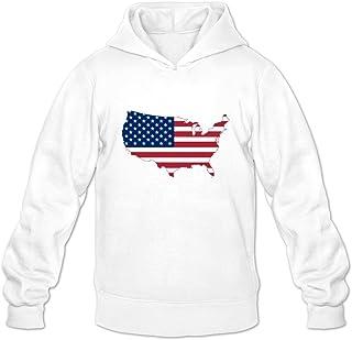 Artphoto Mens Geek Flag Hearts Hoodies Sweatshirt