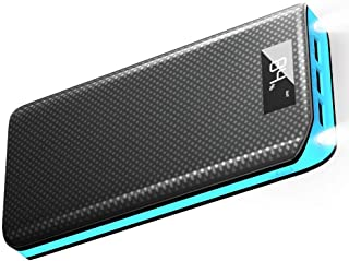 Power Bank X-DRAGON Portable 20000mAh Phone Charger External Battery Pack with 3 USB Output Ports, LCD Digital Display Compatible with Cellphone, iPhone, Samsung, Tablet, iPad and More