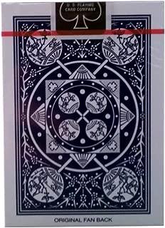 TALLY-HO(タリホー) FAN BACK(ファンバック) トランプ 青 ポーカーサイズ