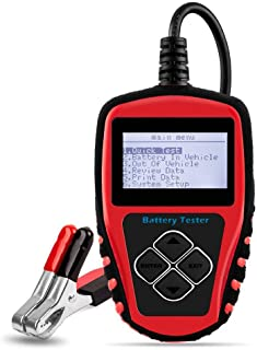 [Upgraded Version] Roadi 3 in 1 auto Battery Tester, Alternator& Starter Tester Compatible for 12V Domestic & Imported Car/Truck - Accurate Test with Professional User Manual & Protective case.
