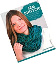 Craft County Arm Knitting Project Book with Clear Step-by-Step Instructions – 15 Different and Original Projects – Make Scarves, Cowls, Wraps, and Capes