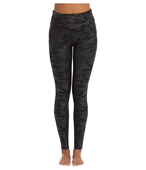 787764c78 Spanx Faux Leather Camo Leggings at Zappos.com