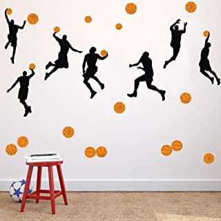 sports player wall decals