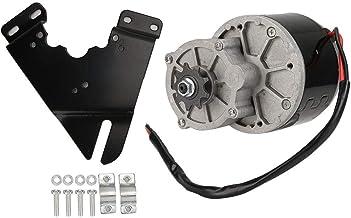 Alomejor Motor De Reducción Eléctrica De 12v 250w con Placa Triangular para Bicicleta Eléctrica