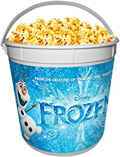 Disney Frozen Theater Exclusive Promotional 170 Oz Plastic Popcorn Tub