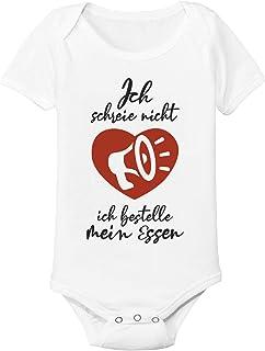 Spruchreif24de Baby Body Strampler Ich Schreie Nicht ich bestelle Essen Geschenk