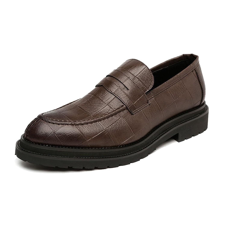 [HYF] シューズ メンズ 通気性 柔軟 ビジネス クラシック 紳士靴 PUレザー