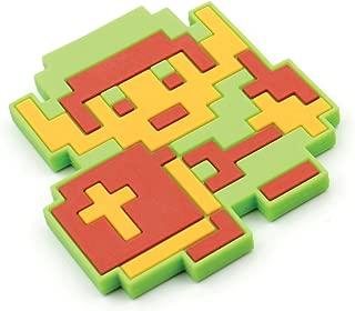 Bumkins Nintendo Zelda Silicone Teether, Textured, Soft, Flexible, Bacteria Resistant - Link