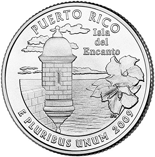 2009 P Puerto Rico State Quarter Choice Uncirculated