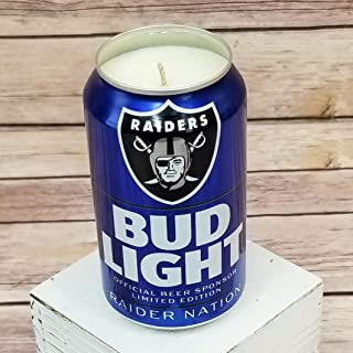 oakland raiders bud light can