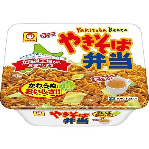 「マルちゃん カップ麺 やきそば弁当」 北海道製造 東洋水産 マルちゃん 焼きそば弁当・北海道限定 中華スープ付 12食入 1ケース(1箱)