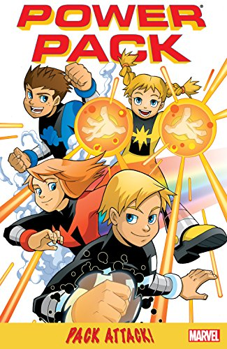 Power Pack: Pack Attack! (Power Pack (2005)) (English Edition)