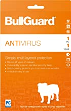 BullGuard Antivirus, 2018 Download Key Card, 1 Year (1-User)