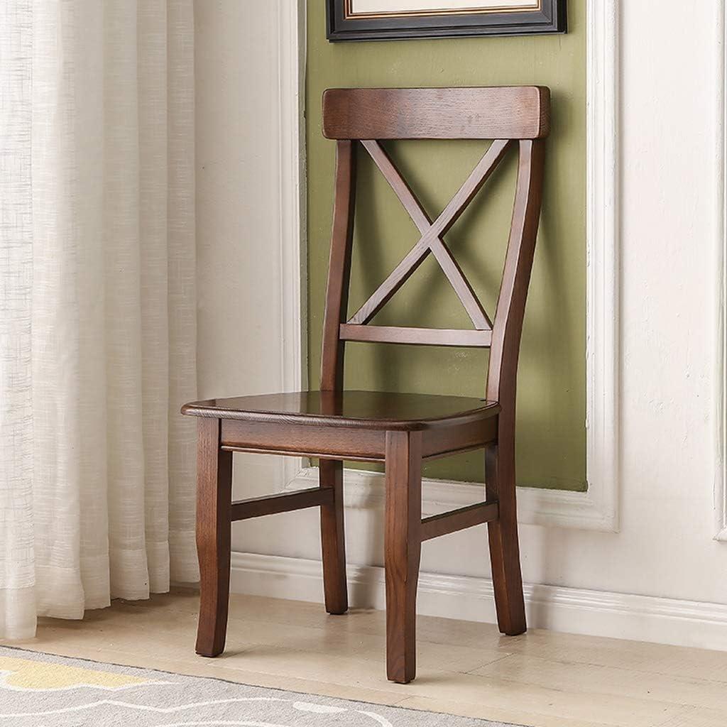 SLL- Chaise de Salle, Chaise de Bureau Simple, créative Dossier, Chaise Loisirs, Maison Adulte Chaise de Salle Moderne (Color : E) C