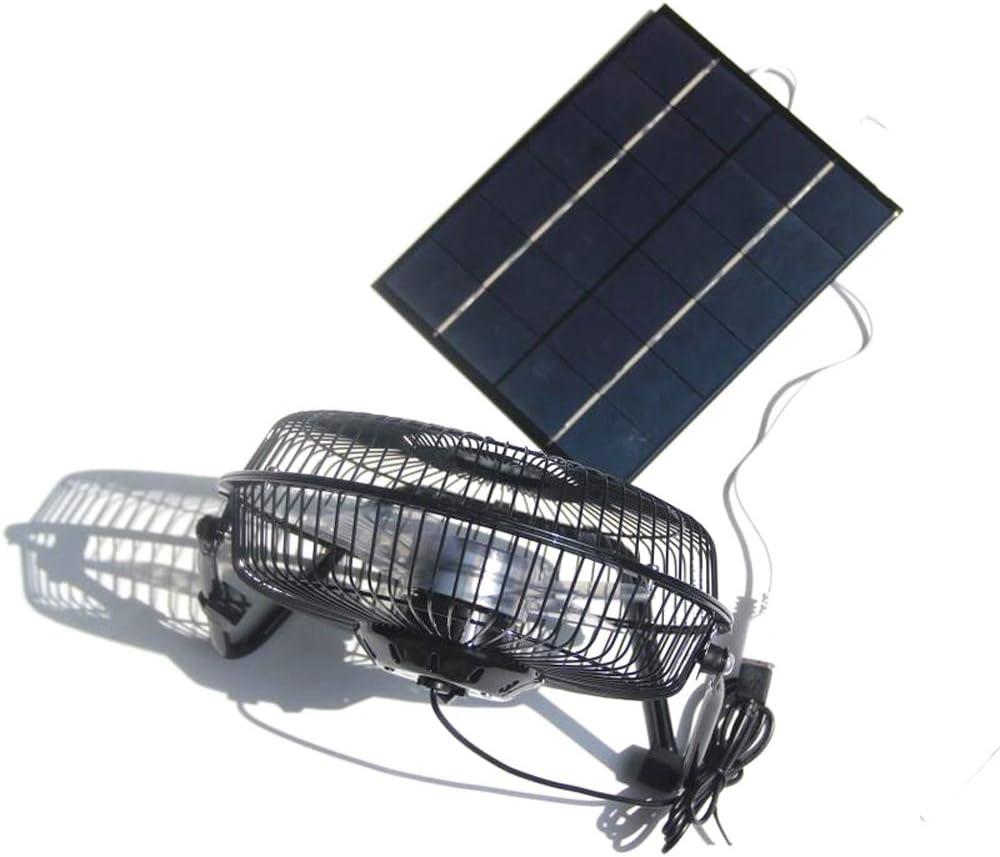 Ventilador solar NUZAMAS