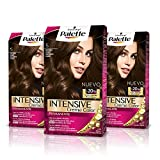 Palette Intense Cream Coloration Intensive Coloración del Cabello 5 Castaño Claro - Pack de 3