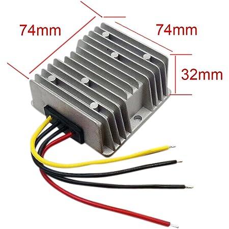 Blackr 12v To 13 8v Dc Boost Converter 18a 248w Dc Power Supply Voltage Splitter Adapter Regulator Auto