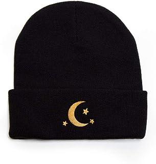 Cirke58/& Soft Knit Cap for Unisex Kneeling English Bulldog Beanie Hat Black