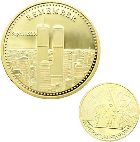 Fanaxii Goldmünze 9.11 Gedenken Münze Sammlermünzen Sammlerstück Medaille Sammlung Antik Zum Sammeln Geschenk 50Pcs