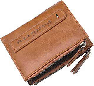 財布 コインポケット コインポケット コインポケット カード財布 E-84 (ブラック、ブラウン)