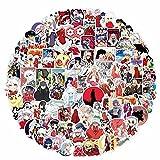 AKlamater 100 pegatinas Inuyasha de Japón, anime Inuyasha, paquete de pegatinas DIY decoración portátil snowboard teléfono botella de agua equipaje para adultos niñas niños (Multi)