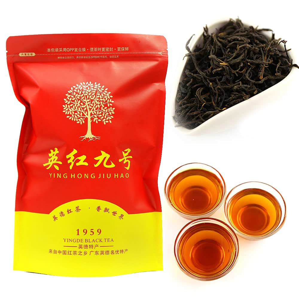 大幅にプライスダウン FullChea - Yingde No. 9 新作通販 Black Guangdong Loose Leaf B Tea