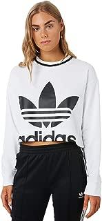 adidas Sweatshirt Cropped White Woman
