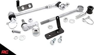 Rough Country 1128 Front Sway Bar Quick Disconnects compatible w/ 1984-2001 Jeep Cherokee XJ ZJ MJ w/ 3.5-6