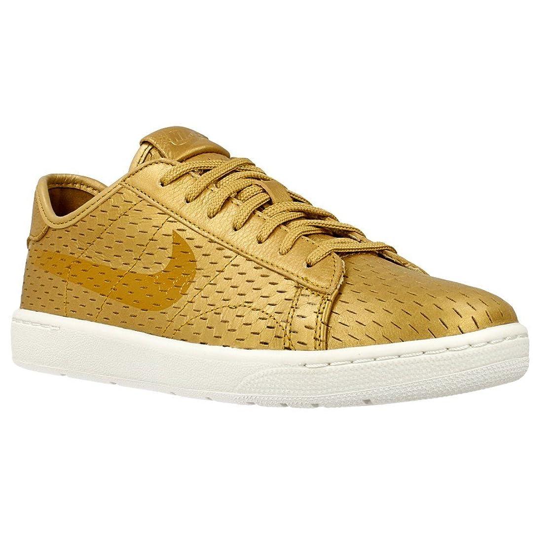 彼ら不倫ヘロイン[ナイキ] Nike - W Tennis Classic Ultra Prm [並行輸入品] - 749647700 - Color: ゴールデン - Size: 23.0