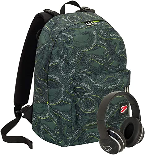Backpack reversible Seven The Double Military Grün