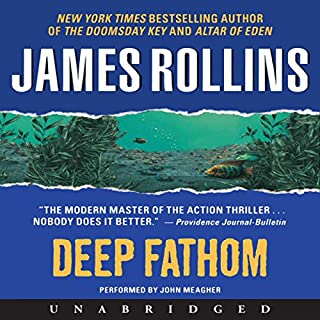 Deep Fathom audiobook cover art