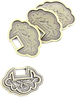 30pcs Jewelry Making Charms Jewellery Charme Antique Brass Tone Fashion Finding for Necklace Bracelet Pendant Earrings Repair DIY TJ086 Blessing Lock