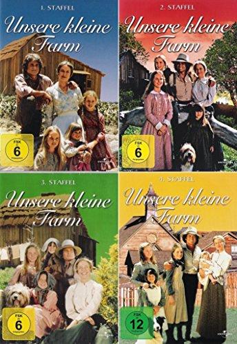 Unsere kleine Farm - Die komplette 1. - 4. Staffel (25-Disc | 4-Boxen)