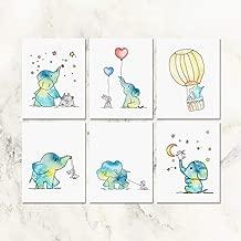 Best baby elephant nursery art Reviews