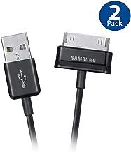 Original Samsung USB Charging Data Cable for Samsung Galaxy Note, Galaxy Tab 2 and Galaxy Tab Devices (ECC1DP0UBEG) - 2 Pack