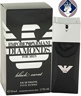 Giorgio Armani Diamonds For Men Black Carat Eau de Toilette Spray 50ml