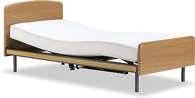 フランスベッド正規品 電動ベッド ナチュラル色 シングルサイズ 【クォーレックス CU-101F】 非課税対象商品 スマートデザインの1モーターリクライニングベッド 300148170
