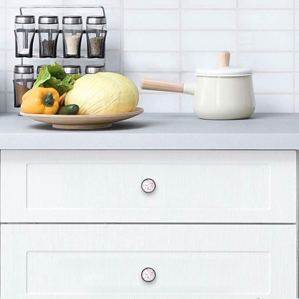 4 Pack Round Kitchen Cabinet Discount is also underway Narwhal Sacramento Mall Mermaids Knobs Whales Pulls