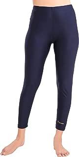 Female Swimwear Solid Swim Legging