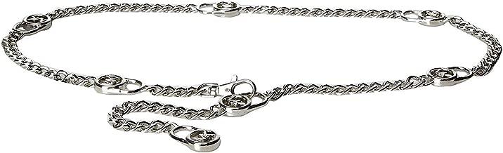 Best michael kors silver chain belt Reviews