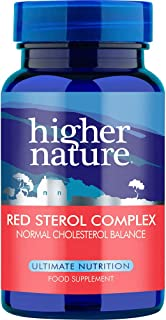 Higher Nature Red Sterol Complex. 90 veg pestañas