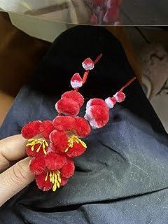 中国BLドラマ 君花海棠の紅にあらず商細蕊 イン・ジョン 尹正 レプリカグッズ 絨花紅梅ブローチ アクセサリー