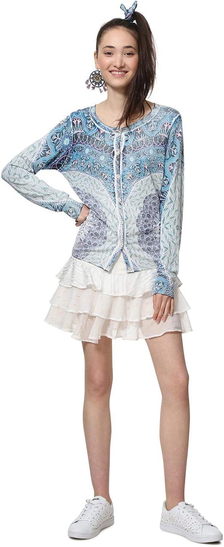 Desigual bluee Knit Jacket Adare