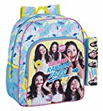 Safta Mochila Escolar Junior Soy Luna 'Faces' Oficial 320x120x380mm