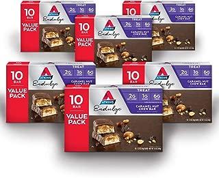 Atkins Endulge Treat, Caramel Nut Chew Bar, Keto Friendly, 60 Count (Value Pack)
