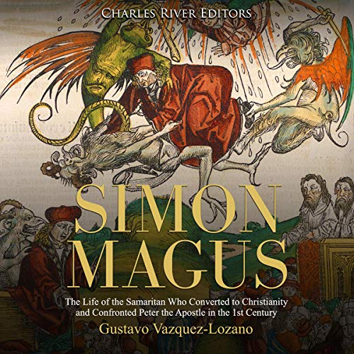 Simon Magus audiobook cover art